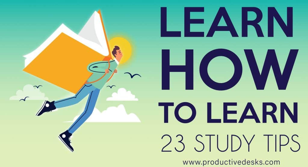 23 study tips for learning