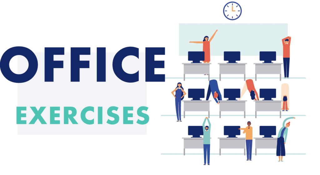 Exercises you can do at the desk